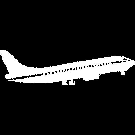 Airplane flying upward